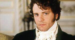 Colin Firth as Mr Darcy in Pride and Prejudice
