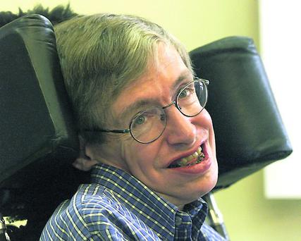 Stephen Hawking, physicist and cosmologist at the Cambridge University