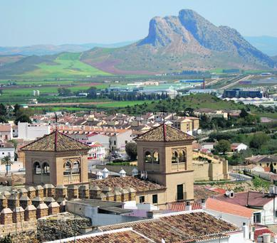 Antequera is a city with a mish-mash of styles