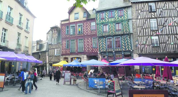 Rennes, Medieval Architecture