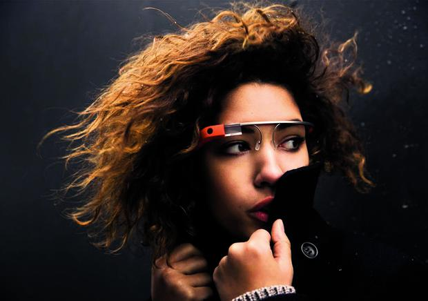 Google Glass, smart glasses under development by Google