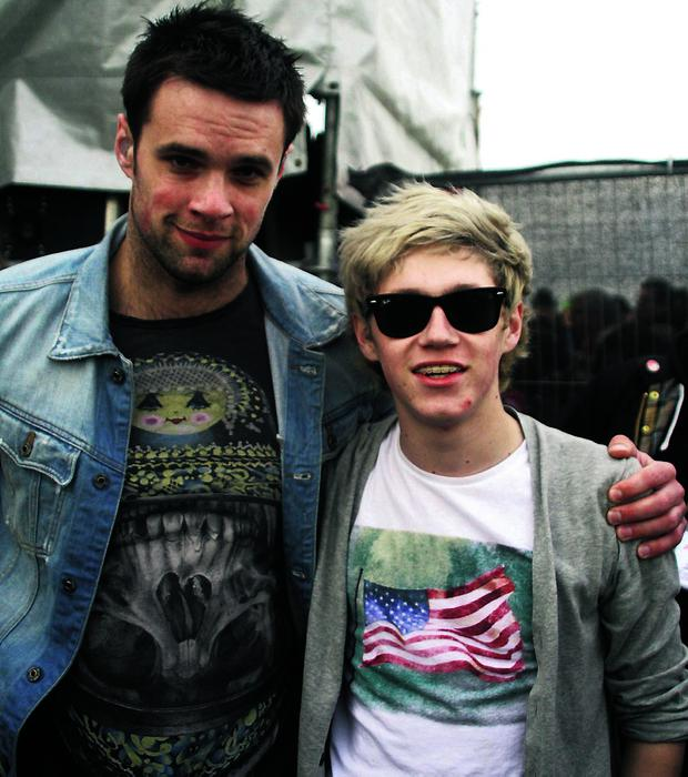 Bressie and Niall Horan
