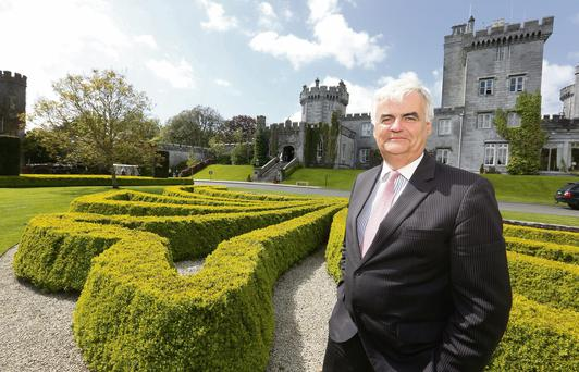 'I surround myself with a team of professionals striving to be the best we can be,' says Dromoland Castle's managing director Mark Nolan. 'We always try to do something differently and listen to what our customers are telling us.'