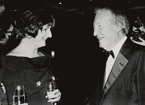Charles Haughey with Terry Keane.