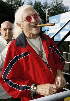 Jimmy Saville. (Photo by Matthew Lewis/Getty Images)