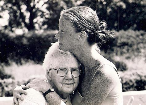 Jean Butler and her granny May
