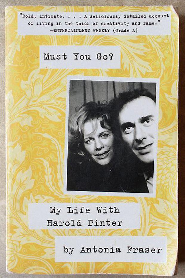 Must You Go by Antonia Fraser is the book that changed Jean's life.
