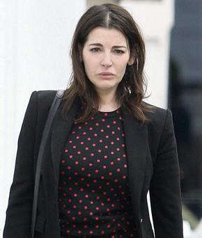 Nigella seems to have sent a removal team into their £14million Chelsea home.