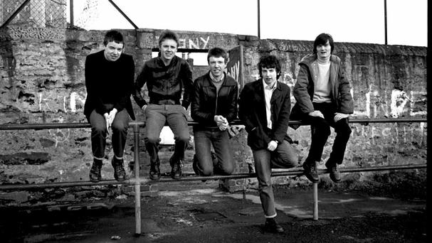 Derry darlings: a very youthful looking Undertones line-up