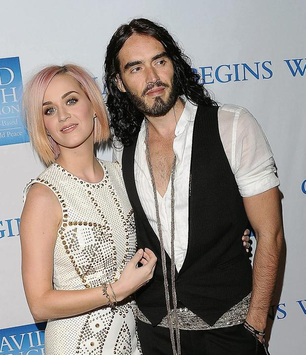UR dumped: Russell Brand reportedly requested a divorce from Katy Perry by text