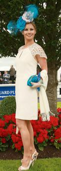 Sarah Hayes Kelly, Darley Irish Oaks fashion winner, Curragh 2012