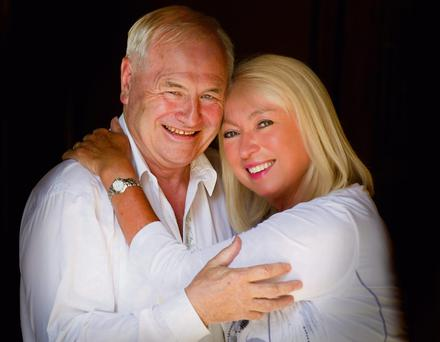 LOVED-UP: Anne Doyle and her partner Dan McGrattan. 'He is very smart, very kind, very pragmatic. Weaknesses, he doesn't seem to have a lot of,' says Anne.