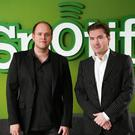 Spotify co-founders Daniel Ek and Martin Lorentzon