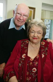 Gordon and Maeve in their Dalkey home