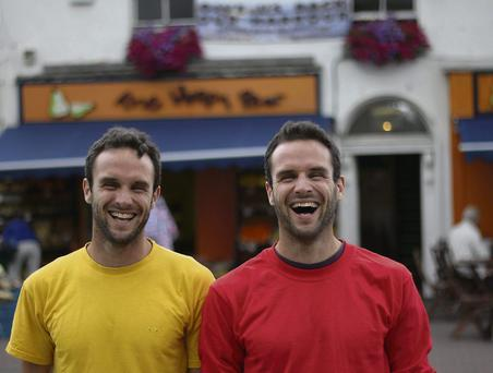 Stephen and David Flynn of the Happy Pear