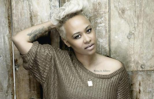 'Local' talent: Emeli Sandé will play here for Arthur's Day