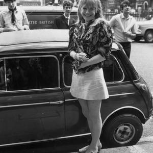 Marianne Faithfull pictured during her heyday in the Sixties