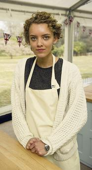 Baking up a storm: 'Great British Bake Off's' Ruby Tandoh is an ex-model