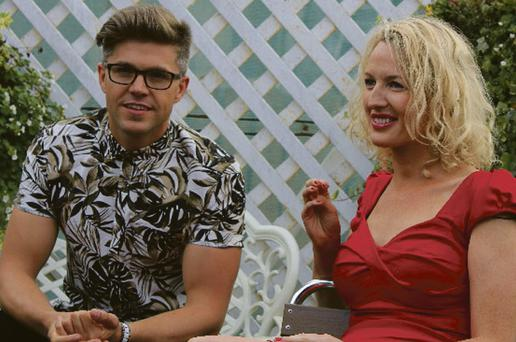 Darren Kennedy and dating expert Avril Mulcahy.