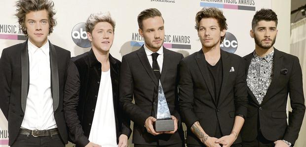 One Direction at the AMAs.