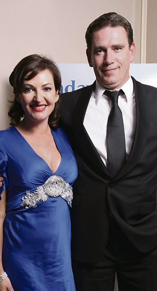 Maura Derrane and her husband John Deasy