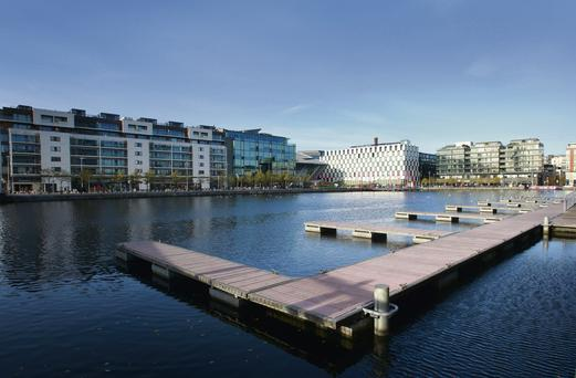 A chip off the old dock: the now salubrious Grand Canal Dock area