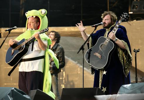 Kyle Gass (left) and Jack Black of Tenacious D
