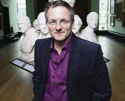Hard HITting: Michael Mosley author of 'The Fast Diet' and 'Fast Exercise' which promotes High Intensity Training (HIT)