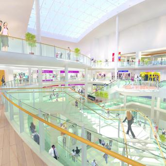 Shopping centre sales accounted for the bulk of the €348m spent outside Dublin