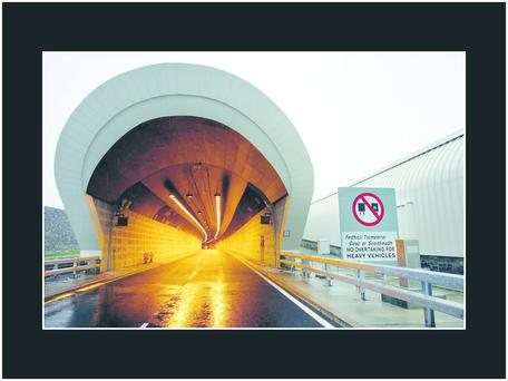 The Dublin Port Tunnel.