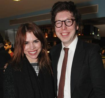 Pop princess: Billie Piper and Ben Power at the opening night of 'A Tender Thing'. Collins/ Michael Donnelly