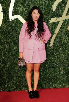 Simone Rocha at the 2013 British Fashion Awards.
