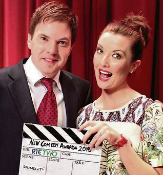 Jennifer Maguire and Bernard O'Shea co-host 2fm's new breakfast show.