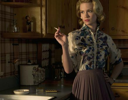 Betty Draper (played by January Jones) of the TV show 'Mad Men'