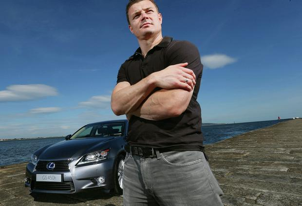 Driving ambition: Brian O'Driscoll as an ambassador for Lexus. INPHO/BILLY STICKLAND