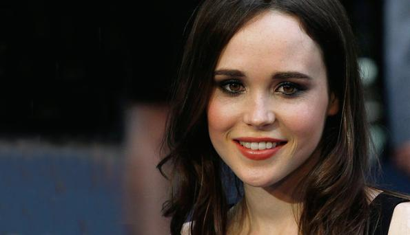 Role model: Ellen Page at the London premiere of Inception