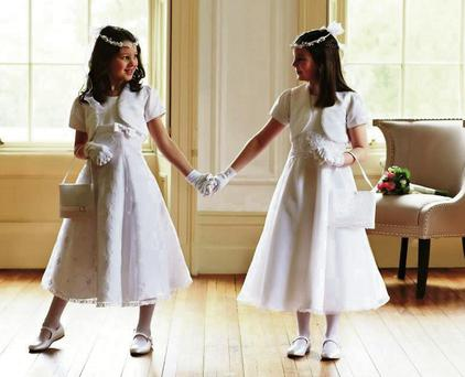 Aldi begins selling Communion dresses