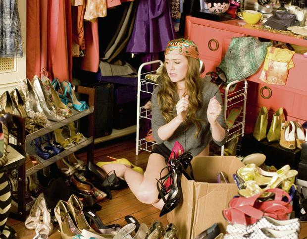 Retail ruin: Isla Fisher in 'Confessions of a Shopaholic'.