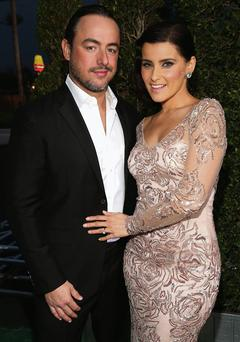 Healthy tension: Nelly Furtado and her husband Demacio Castellon. Photo: Getty Images