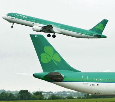 Aer Lingus confirmed today that they investigated the incident.