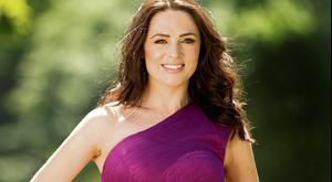 HOSTESS: The lovely Grainne Seoige will take time out of her hectic RTE schedule to nip across the water to host Taking Charge of Change Together. Photo: Gerry Mooney