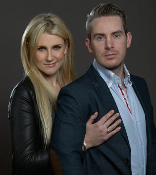 Dating experts Feargal Harrington and Rena Maycock of Intro