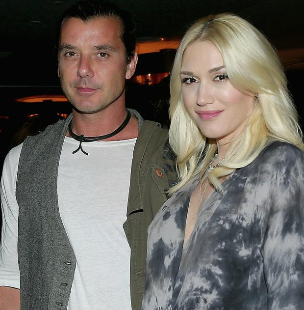 No doubting her cool: Gwen Stefani (44) with husband Gavin Rossdale