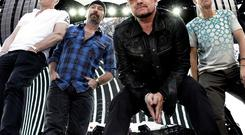 Elevation from U2 has a 'a mole, digging in a hole'.