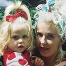 The poignant picture of Peaches as a baby with her mother, which she tweeted hours before her body was found on Monday