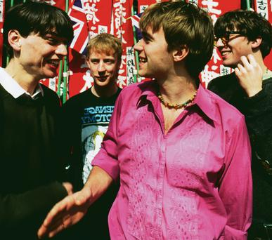 Blur in the early 90s