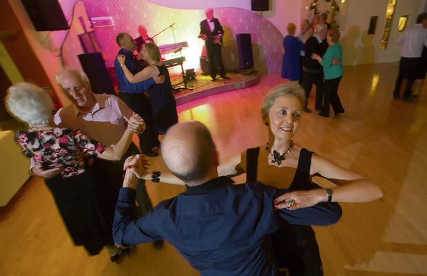 TAKE YOUR PARTNER: Ballroom dance night at Kelly's Hotel, Rosslare, Co Wexford. Photo: Patrick Browne