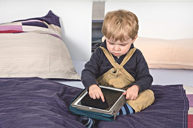 Toddler locks dad out of iPad for 48 years