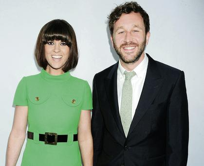 Stylish couple: Dawn O'Porter with husband Chris O'Dowd
