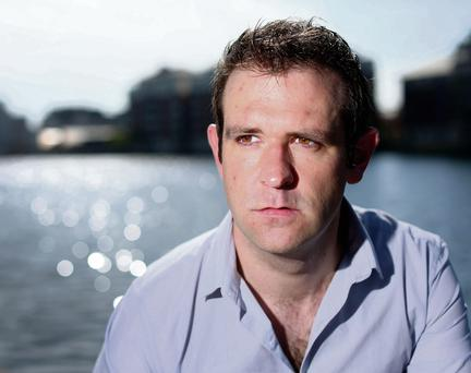 Tom Meagher who has moved back home to Ireland. Photo: Gerry Mooney